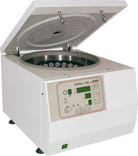 Laboratory centrifuge / multifunction / bench-top HuMax 14K HUMAN