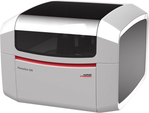Automatic biochemistry analyzer / random access 100 tests/h | HumaStar 100 HUMAN