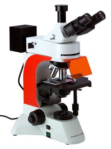 Laboratory microscope / fluorescence / trinocular / LED HumaScope Fluo HUMAN