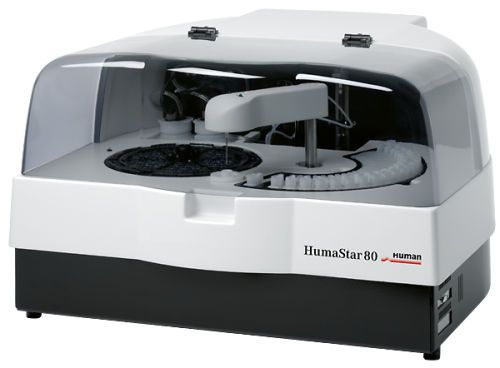 Automatic biochemistry analyzer / bench-top 80 tests/h | HumaStar 80 HUMAN