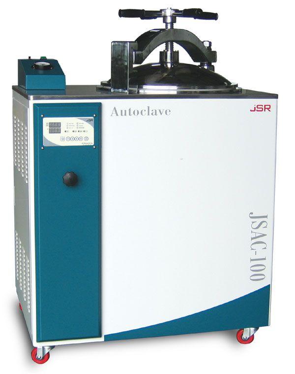 Laboratory autoclave / vertical 123 °C | JSAC SERIES JS Research Inc.