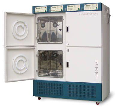 Multi-chamber laboratory incubator JSMI-04T JS Research Inc.