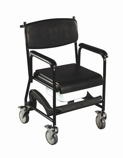 Commode chair / on casters max. 140 kg | Markfield Drive Medical Europe