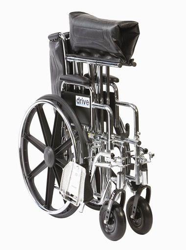 Passive wheelchair / folding max. 200 kg | Sentra EC Drive Medical Europe
