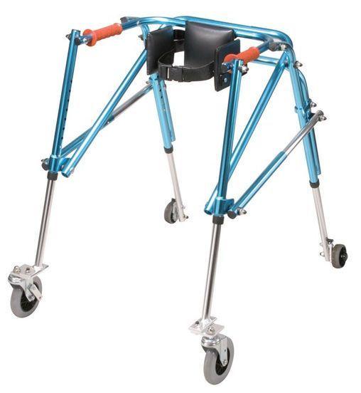 4-caster rollator / height-adjustable / pediatric / folding Nimbo KA1050 Drive Medical Europe