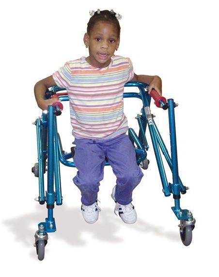 4-caster rollator / height-adjustable / folding / pediatric Nimbo KA285 Drive Medical Europe