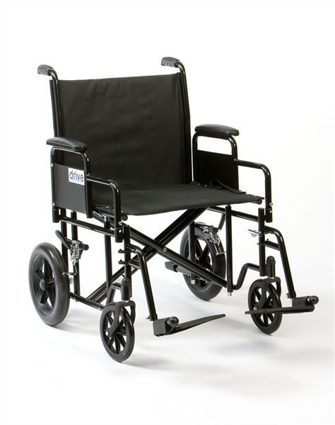 Bariatric patient transfer chair max. 200 kg | BTR22 Drive Medical Europe