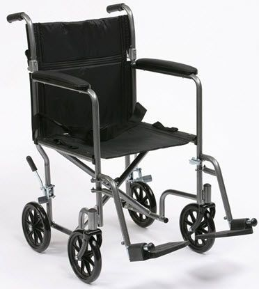 Folding patient transfer chair max. 115 kg | TR-39ESV Drive Medical Europe