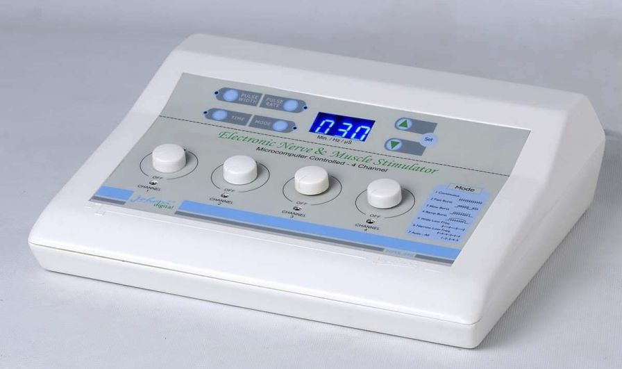 Electro-stimulator (physiotherapy) / EMS / TENS / 4-channel NMS 498 Johari Digital Healthcare Ltd.