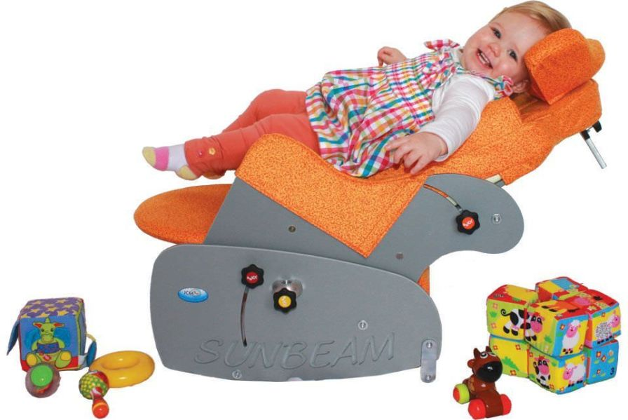 Medical sleeper chair / on casters / reclining / pediatric Sunbeam JCM Seating