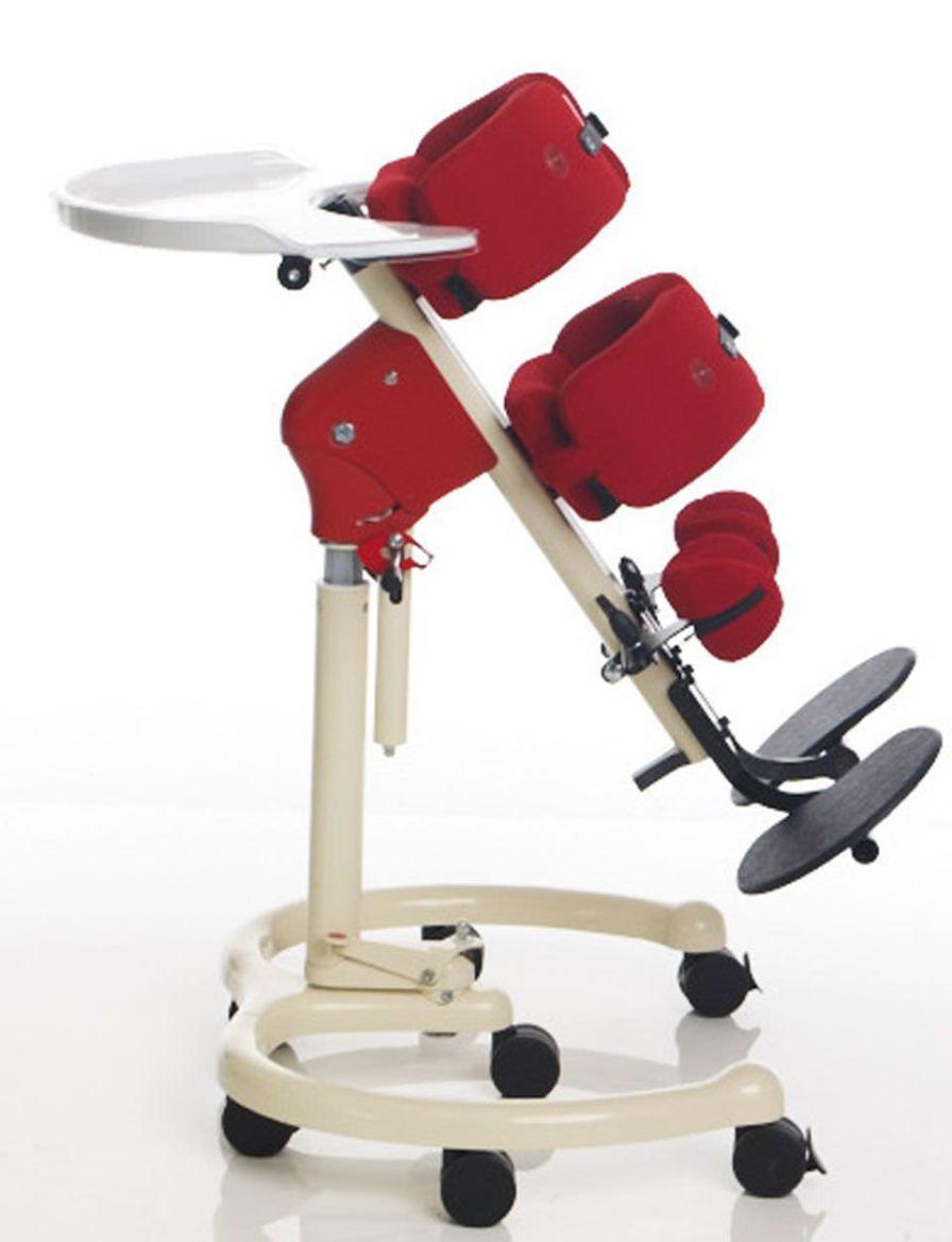 Pediatric standing frame Hip Stander JCM Seating