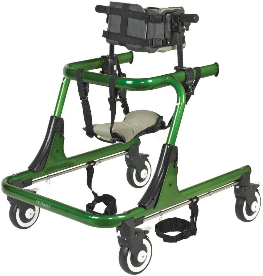 4-caster rollator / pediatric Trekker JCM Seating