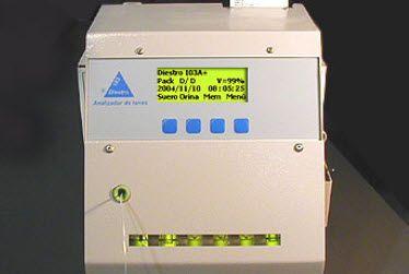 Electrolyte analyzer Diestro® 103A, Diestro® 103A+ JS Medicina Electronica