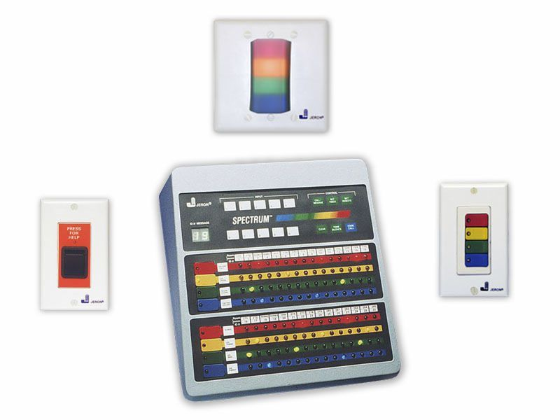 Hospital management and communication system for Spectrum® 760 Jeron Electronic Systems