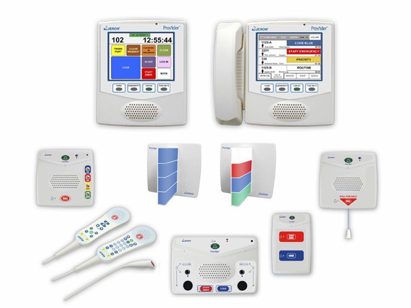 Nurse call management system Provider® 790 Jeron Electronic Systems