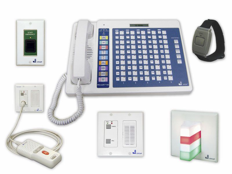 Nurse call management system Pro-Alert™ 640 Jeron Electronic Systems
