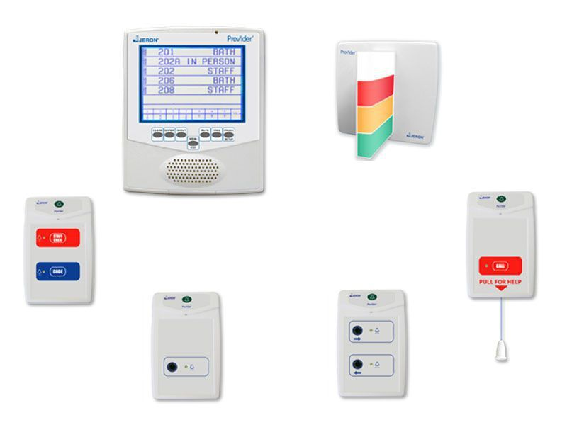 Nurse call management system Provider® 680 Tone-Visual Jeron Electronic Systems