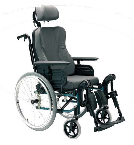 Passive wheelchair / with headrest / with legrest Action3 NG Comfort Invacare