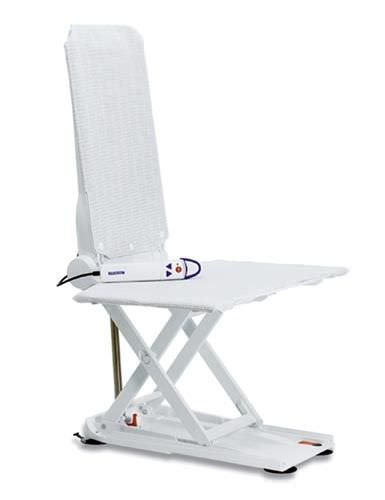 Shower chair / height-adjustable / electrical / bariatric Aquatec Orca Invacare