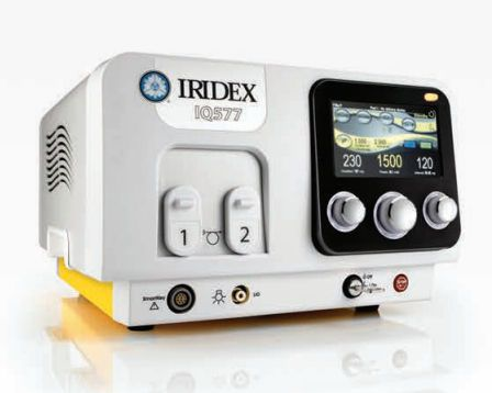 Ophthalmic laser / for retinal photocoagulation / solid-state / tabletop 577 nm | IQ 577™ Iridex