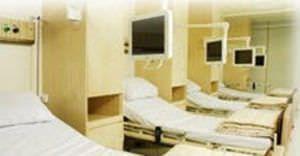 Medical monitor support arm / wall-mounted SMB A100 ITI TECHNOLOGY
