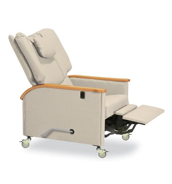 Reclining medical sleeper chair / on casters / manual Kangaroo 623-15 IoA Healthcare
