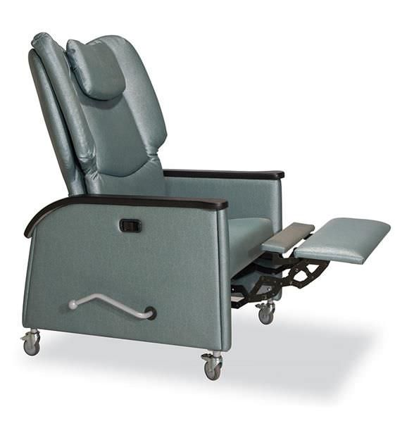 Medical sleeper chair / on casters / reclining / manual Kangaroo 623-51 IoA Healthcare