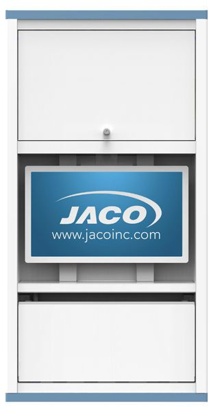 Medical computer workstation / wall-mounted / recessed WS-25, IWS-33 JACO, INC.