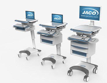 Medical computer cart / medicine distribution JACO UltraLite JACO, INC.