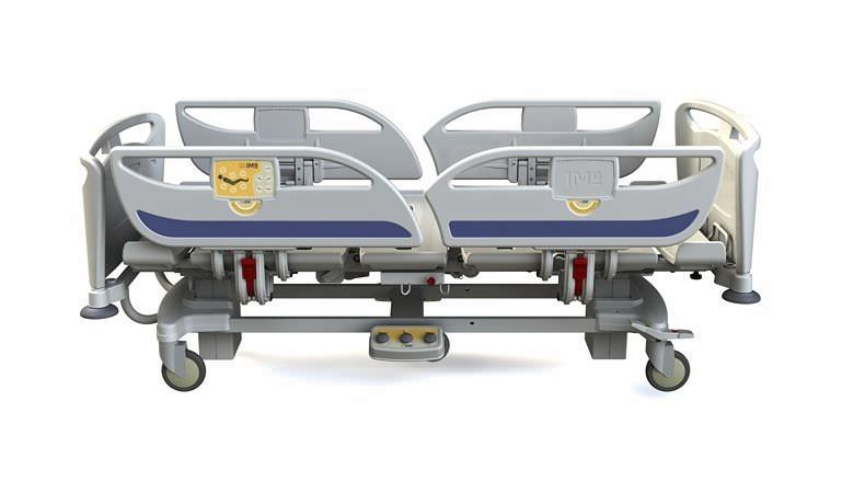 Electrical bed / height-adjustable / 4 sections Matrix T60 IMO