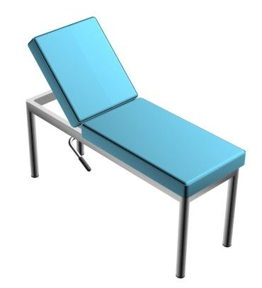 Fixed examination table / 2-section Doctor IMO