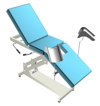 Gynecological examination table / fixed / 3-section Doctor IMO