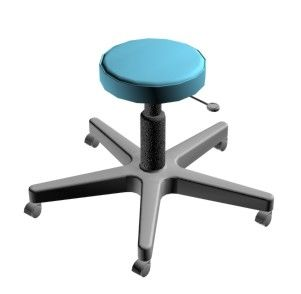 Medical stool / height-adjustable / on casters Doctor IMO