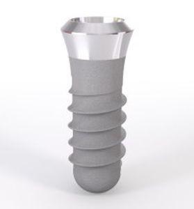Conical dental implant / titane-zirconium alloy Straumann® Soft Tissue Level Institut Straumann AG