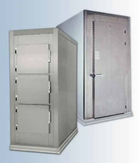 3-body refrigerated mortuary cabinet Hygeco International Produits