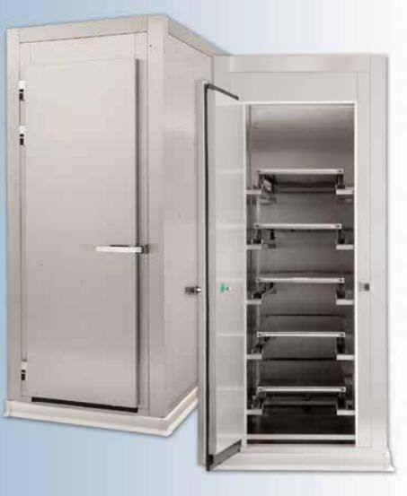5-body refrigerated mortuary cabinet Hygeco International Produits