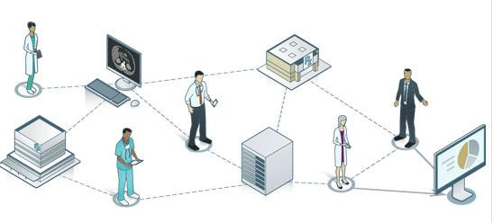 Data exchange software / data management / reporting / analysis HealthShare® InterSystems