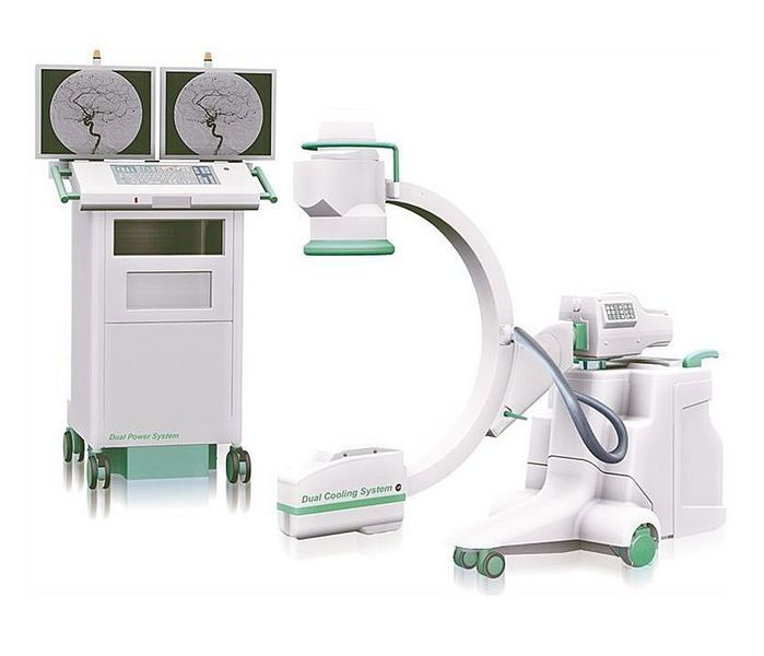 Mobile C-arm / with video column RADIUS XP Intermedical