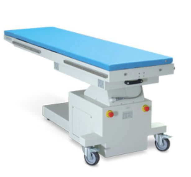 Mobile C-arm table / height-adjustable / electrical / with table Basic Intermedical
