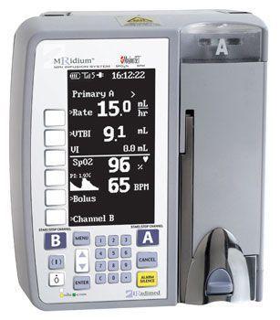 Volumetric infusion pump / 1 channel / non-magnetic MRidium 3860, 3860+ IRADIMED CORPORATION