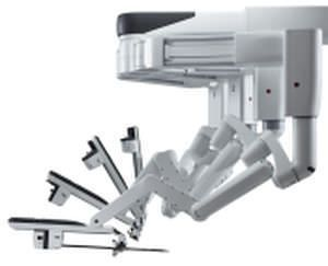 Minimally invasive surgical robot / with console / for angioplastie da Vinci Xi® Intuitive Surgical