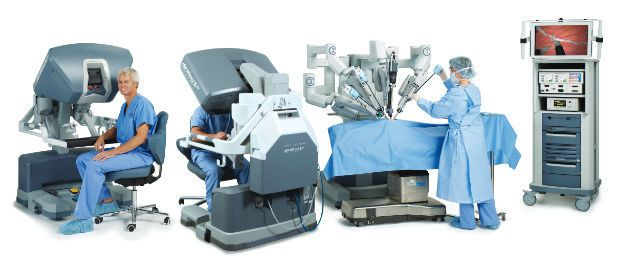 Robotic surgery simulator / with electronic console Si-e® Intuitive Surgical