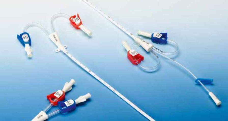 Hemodialysis catheter / double-lumen intra special catheters
