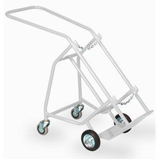 Gas cylinder trolley / 1-cylinder CYT/J1/ST Bristol Maid Hospital Metalcraft