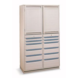 Medical cabinet / storage / for healthcare facilities / double module 8SXRD72TU2 Bristol Maid Hospital Metalcraft