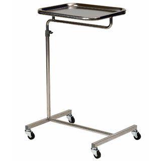 Height-adjustable Mayo table SS/22/1, SS/22/2 Bristol Maid Hospital Metalcraft