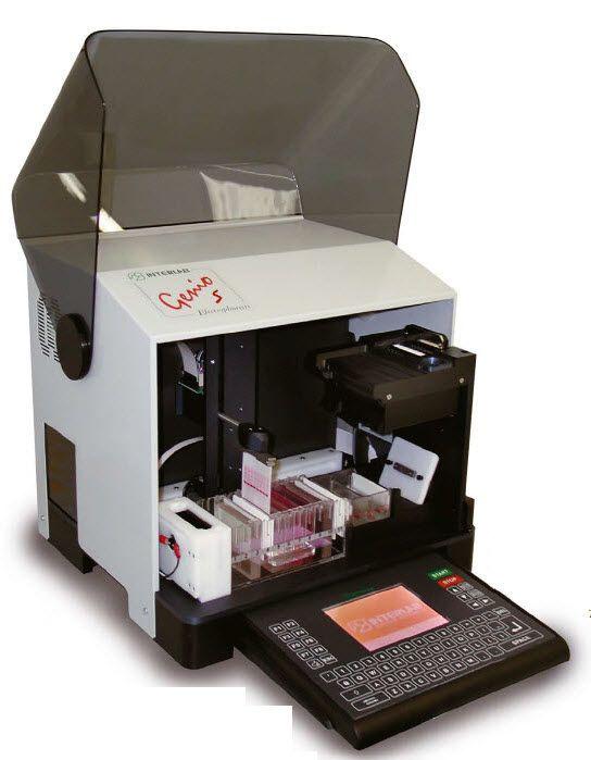 Compact electrophoresis system GENIO S Interlab