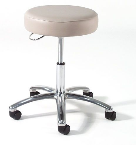 Medical stool / height-adjustable / on casters / with backrest 873 Intensa