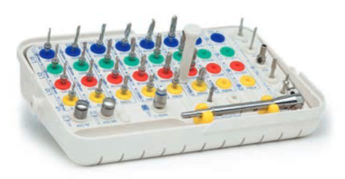 Implantology instrument kit RBS® 3 IMPLANTS DIFFUSION INTERNATIONAL