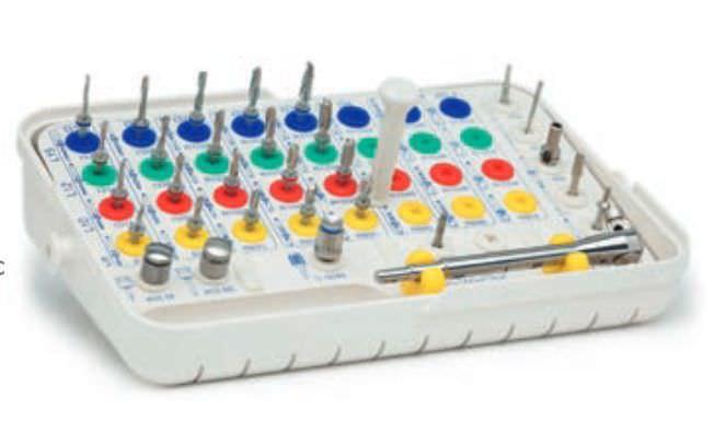 Implantology instrument kit RBS® 2 IMPLANTS DIFFUSION INTERNATIONAL